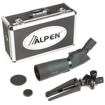 Alpen 20-60x80 Angled Body Waterproof Spotting Scope Kit Reviews and Ratings