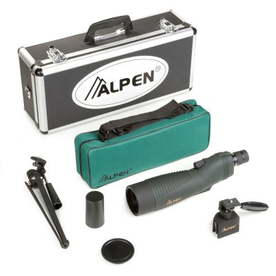 Alpen 18-36x60 Straight Body Waterproof Spotting Scope Kit Reviews and Ratings