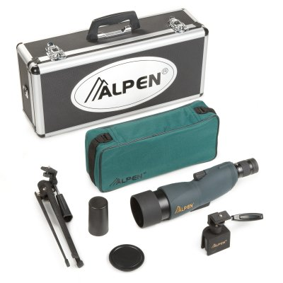 Alpen 15-45x60 Straight Body Waterproof Spotting Scope Kit Reviews and Ratings