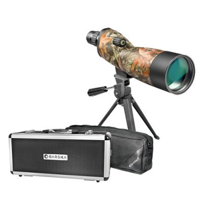 Barska 20-60x60 Blackhawk Waterproof Spotting Scope - Mossy Oak BreakUp Camo Reviews and Ratings