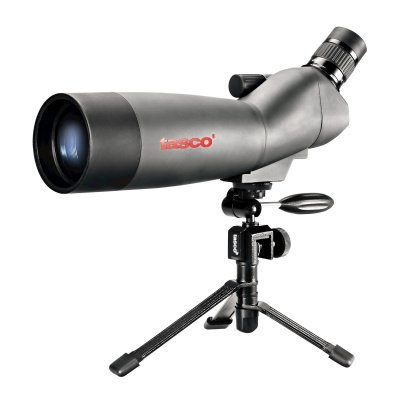 Tasco World Class 20-60x60 Zoom Spotting Scope with Tripod - 45 Degree Eyepiece Reviews and Ratings